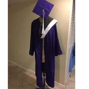 Jackets & Blazers - Hunter College NY Purple graduation gown women